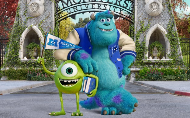 Monsters University.