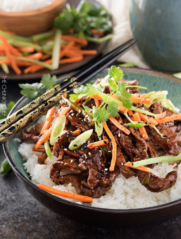 30-Minute Spicy Ginger Szechuan Beef