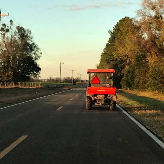 You were probably late to school once or twice because you got stuck behind a damn tractor.