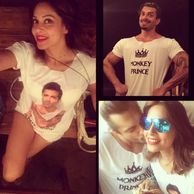 And Bipasha's adorable birthday surprises didn't end there...