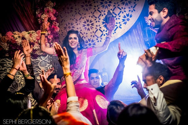 """""""We had lots of family performances and it was just the way we wanted,"""" Meghna told wedding blog Wed Me Good."""