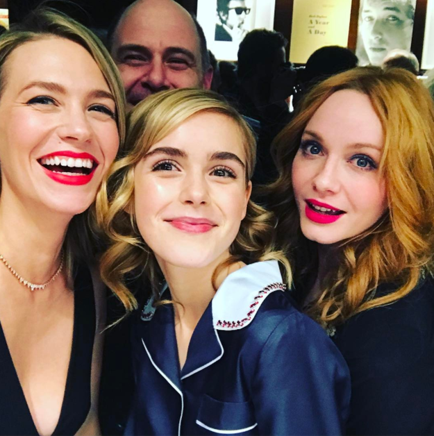 The Mad Men girls reunited.