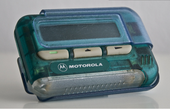 You begged your parents to get you a pager so that they could contact you whenever they wanted — but really it was for your friends to hit you up.