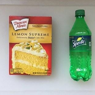Cake Mix Soda Hack