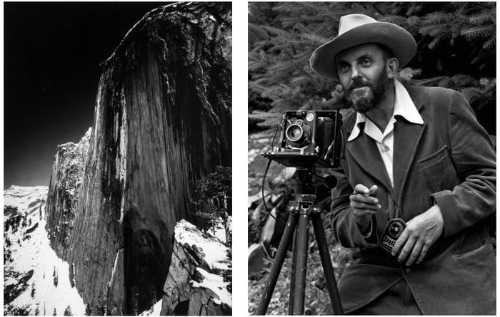 Ansel Adams, along with his crew of early-20th-century photographers, Group f/64, changed the game for photography as an art. Before this, art photography was respected only if it embraced the pictorial elements of painting; it was the main reference point photographers had for what art looks like. But Ansel instead embraced the sharp focus and deep tonal spectrum of black-and-white photography, utilizing all the technical possibilities that the modern camera was capable of to make his art. Here, Artsy narrates the tale of how one of his earliest and most iconic images changed photography forever. —Gabriel H. Sanchez, photo essay editor, BuzzFeed News