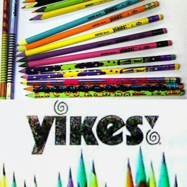Changing up your pencil game with these ~cool~ ones: