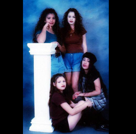 Having photos that looked like this taped to the inside of your locker: