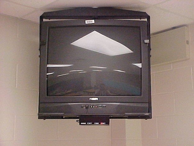 Having TVs mounted in the corner of the classroom. And, if your teacher was cool, they'd let you watch Jerry Springer or The Price Is Right if the class was well behaved.