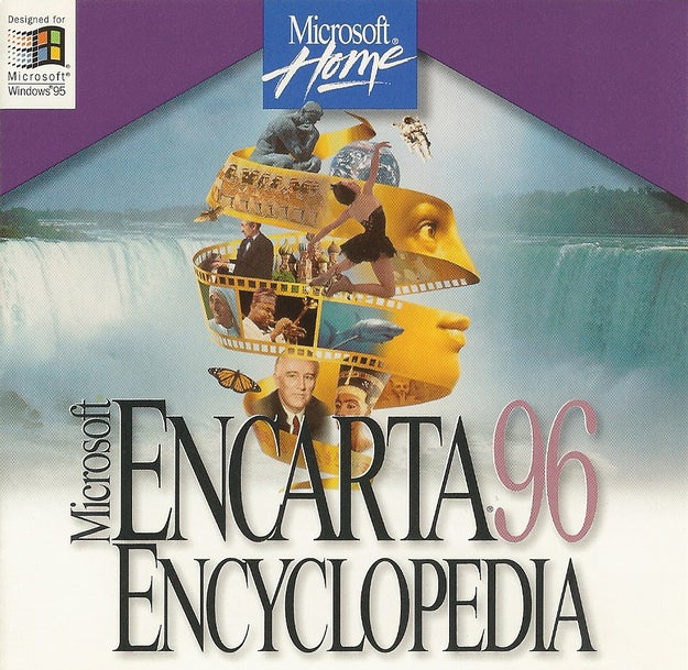 ...or, if you were lucky, Encarta.