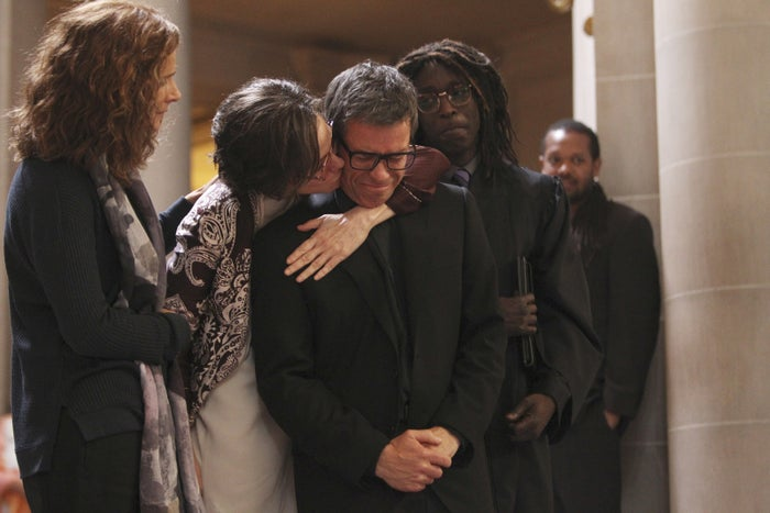 From left: Rachel Griffiths, Mary-Louise Parker, Guy Pearce, Michael Kenneth Williams.