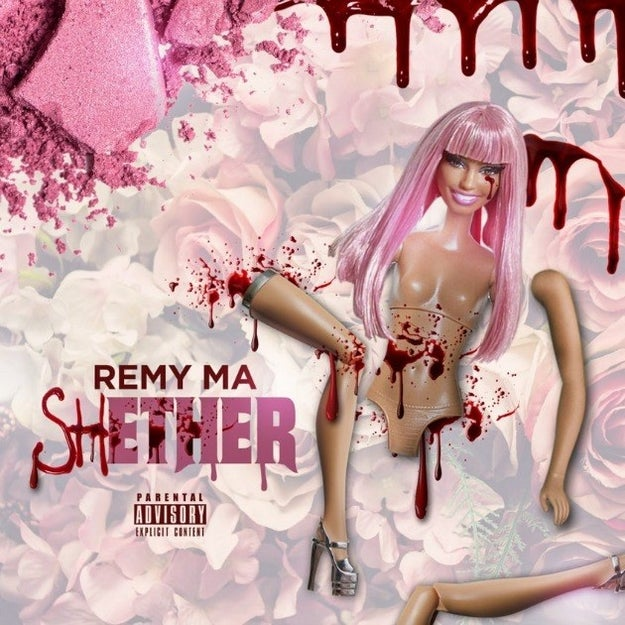 """On a quiet Saturday afternoon, rapper Remy Ma decided to release a diss track coming at Nicki Minaj called """"shETHER,"""" and it is...wooo boy."""