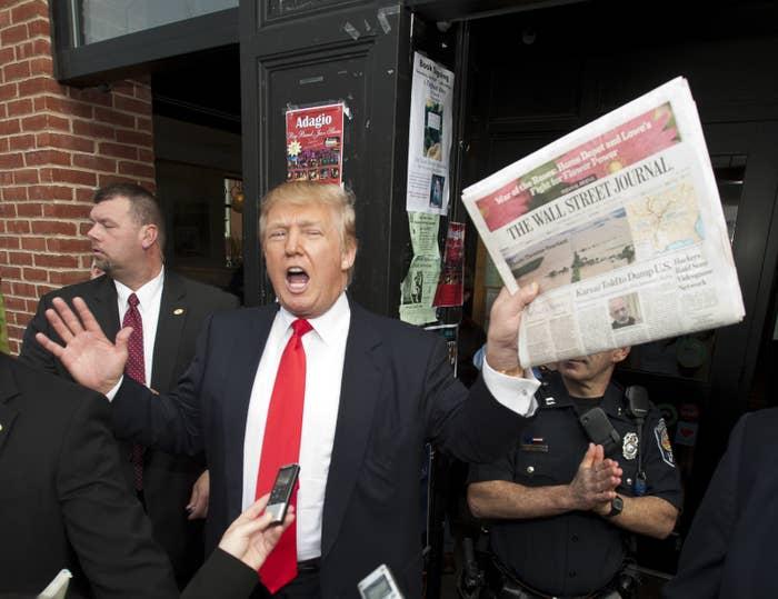 Trump in 2011