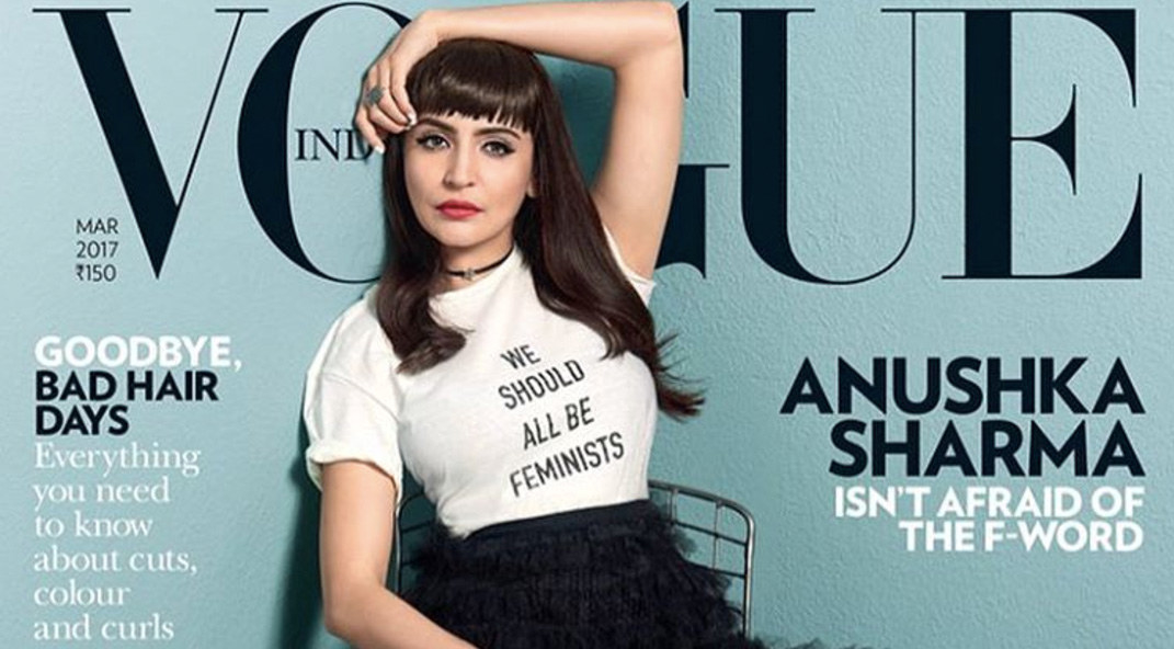 feminism and vogue cover essay
