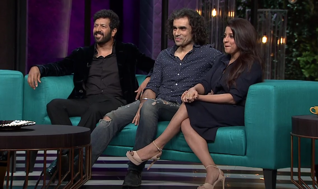 "Karan Johar hosted a ""Director's Special"" for tonight's episode and invited Zoya Akhtar, Imtiaz Ali and Kabir Khan to be part of it."