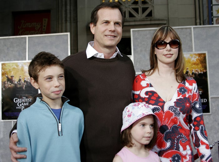 Bill Paxton and his family in 2005.