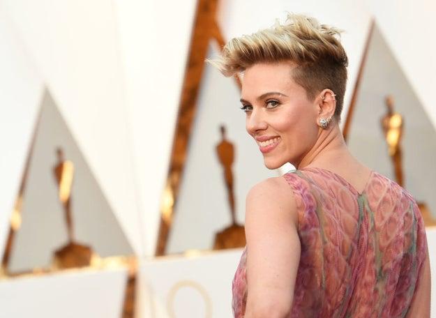 Scarlett es perfección.