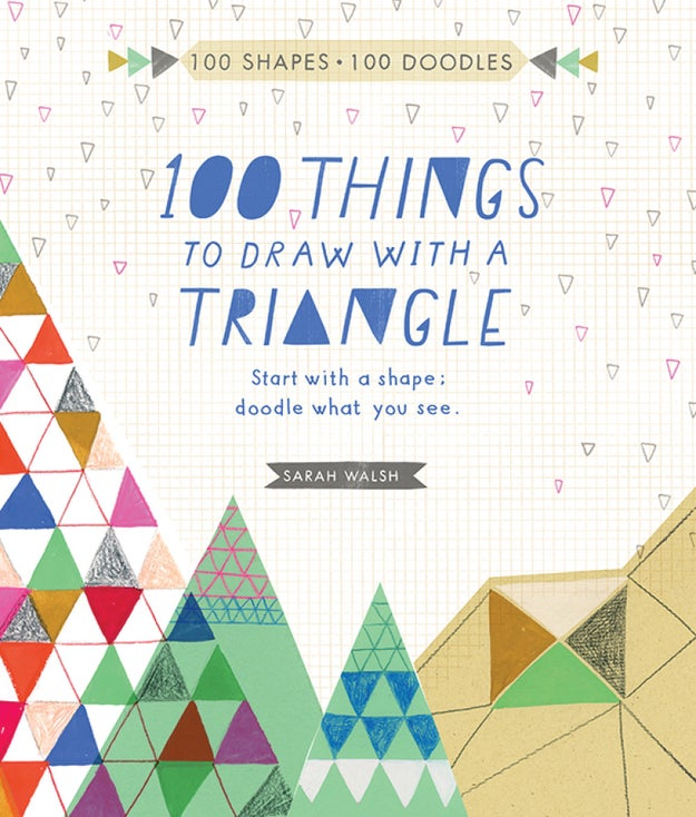 An activity book for anyone who starts doodling every time they pick up a pen or pencil.
