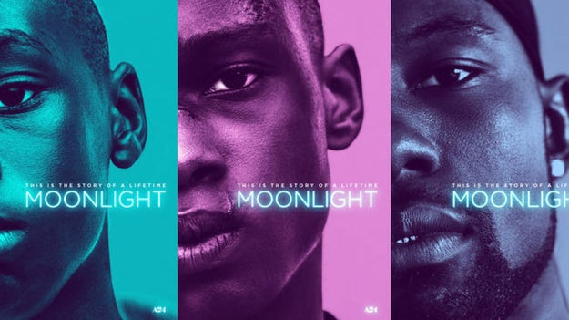 Academy Award-nominated Moonlight is a film that follows its main character, Chiron, through the different stages of his life.