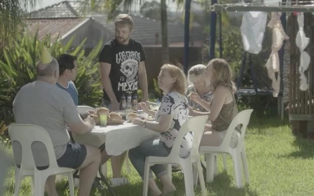 "The ad is set at a birthday barbecue at which family members are lathering their food in barbecue sauce. The son, who does not like barbecue sauce, stands and awkwardly ""comes out"" to his family, revealing he is... ""a tomato sauce man"". The father, who appears to be deeply disappointed, walks off and removes his birthday hat before returning and hugging his son."