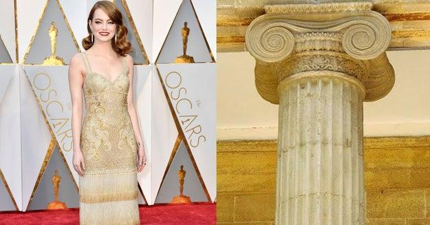 Y Emma Stone se vio monumental.