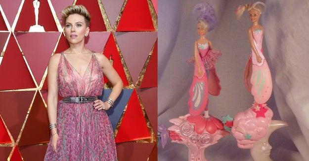 Scarlett Johansson, que en realidad es una Sky Dancer.