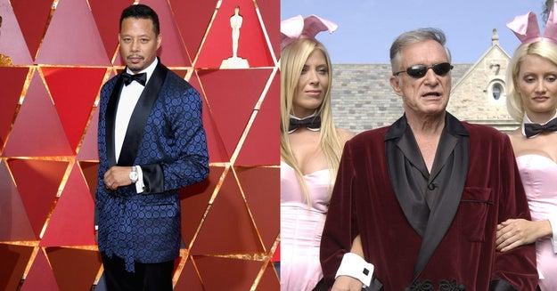 Mientras que Terrence Howard tenía una cita en la mansión Playboy.