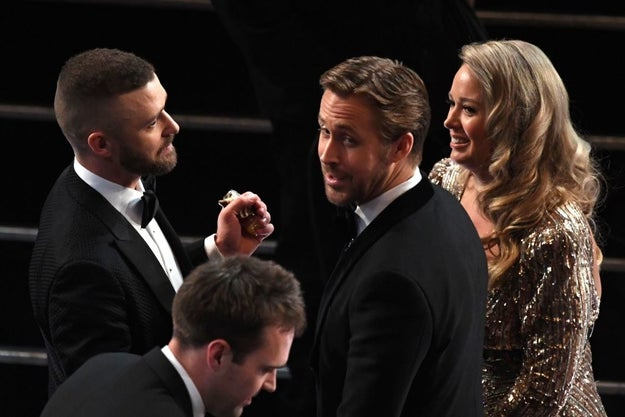 ...and here they are looking just as magical tonight at the Oscars.
