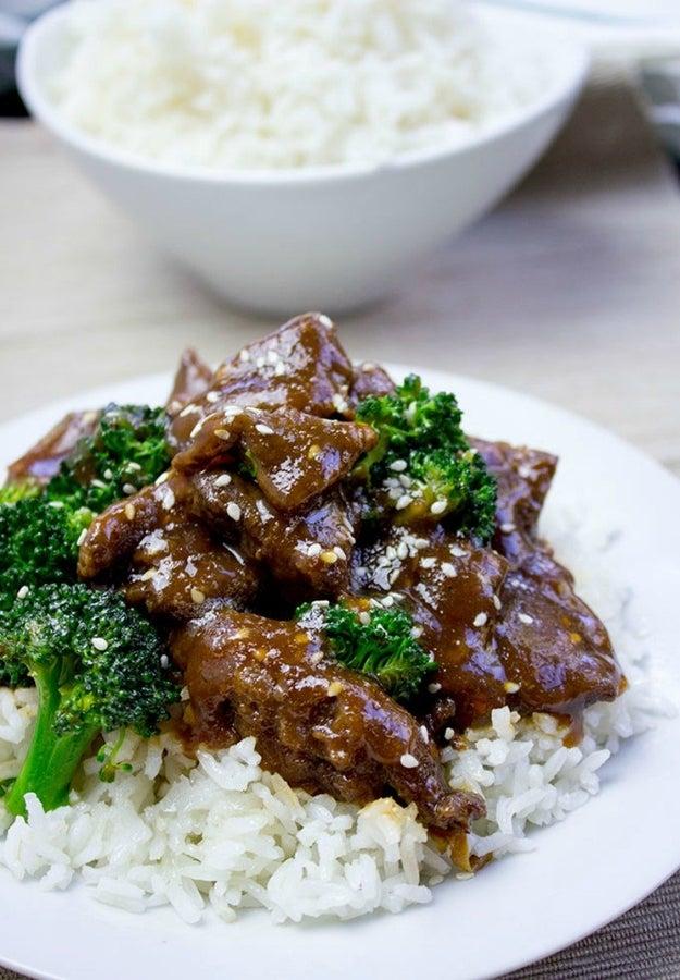 Garlic Hunan Beef