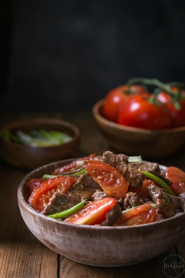Gluten Free Beef and Tomato