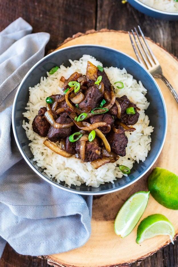Bo Luc Lac Vietnamese Shaking Beef