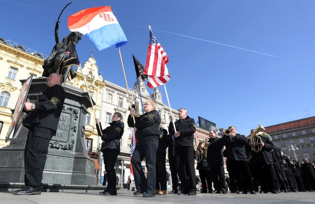 "The US Embassy in Zagreb, as you might guess, was not at all pleased. It told the AP in a statement that it ""rejects, in the strongest terms, neo-Nazi and pro-Ustasha views expressed during the demonstration of a few people in Zagreb on Sunday."""