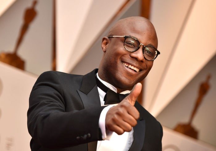 Moonlight director Barry Jenkins at the 89th Annual Academy Awards.
