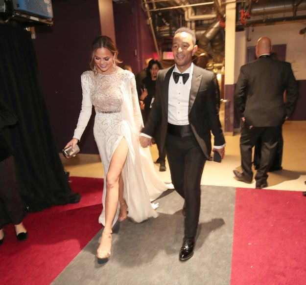 Chrissy Teigen and John Legend being relationship goals.