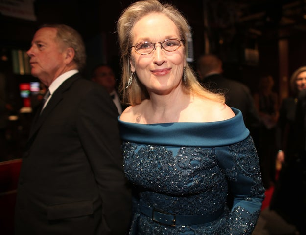 Meryl Streep, who was nominated for her 20th Oscar on Sunday night.
