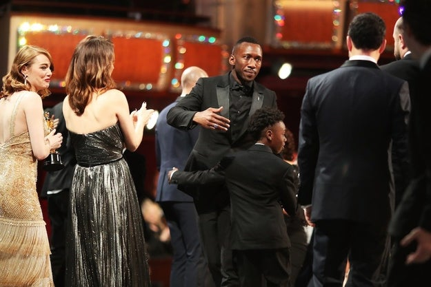 After La La Land was initially announced as the Best Picture winner, it was noted there was a mistake and Moonlight was the actual winner of the night.