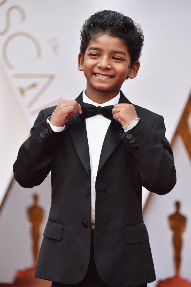 Sunny Pawar, Dev's Lion co-star, was also front and centre on everyone's cuteness radar.