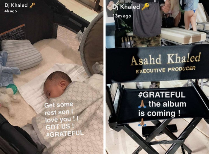 So much so that DJ Khaled made his son the EXECUTIVE PRODUCER of his newest album. I'm 22, and not even close to being an executive of my own damn life lmao pls help.