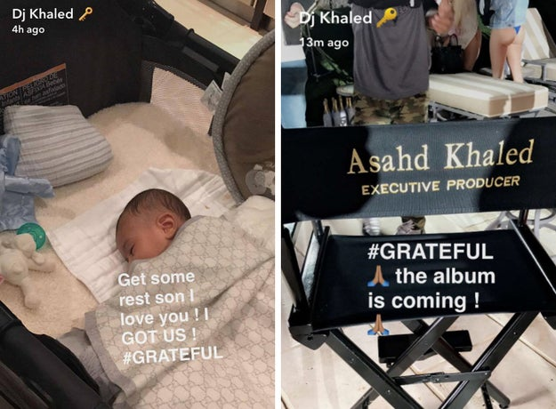 And, well, since Asahd's birth, Khaled hasn't been shy showing the world how much he loves his baby boy.