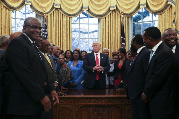Here's What The HBCU Presidents In That Oval Office Photo Say Happened At The White House