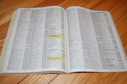 Cet énorme annuaire dans lequel vous vous amusiez à chercher le numéro de votre crush.