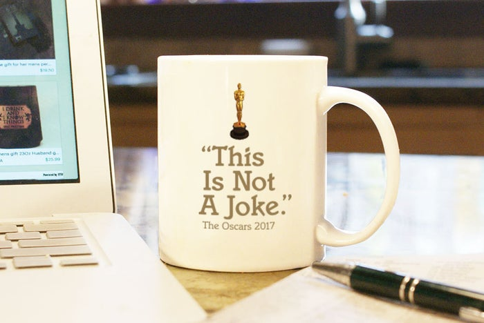 Best actress and best picture, same thing, amirite.Get it from Crest Field on Etsy for $15.
