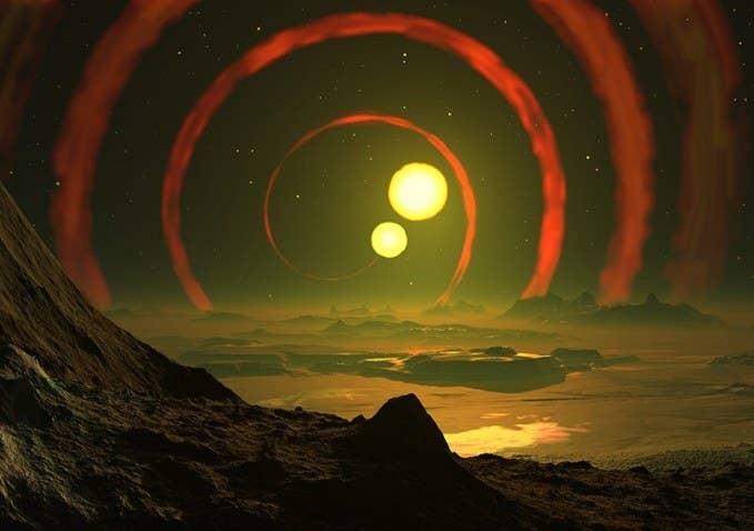 """O sinal de rádio detectado pelo SETI em 2004 não é tão conhecido como o Sinal Wow registrado em 1977, mas é quase tão surpreendente quanto. Ele foi transmitido na """"região waterhole"""", que acredita-se ser uma boa candidata para frequências utilizadas por inteligências extraterrestres, e foi observado sucessivamente pelo SETI em semanas subsequentes. No entanto, pode ser que o sinal seja simplesmente um fenômeno natural de uma espécie nunca imaginada antes.**ETs!"""
