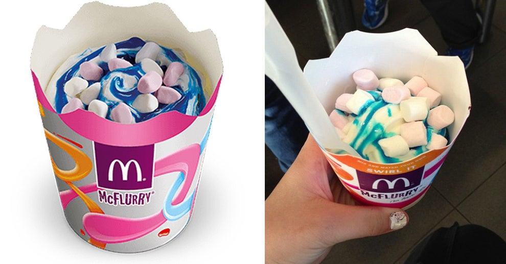Bubblegum Squash McFlurry