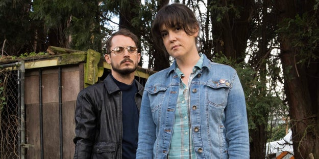 2. Elijah Wood agrees to be backup, no questions asked, in I Don't Feel at Home in This World Anymore.