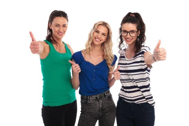 """Que, en grupos grandes de amigos en común, se segmente en """"hombres y mujeres"""" porque seguro que las chicas tenéis muchísimo en común."""