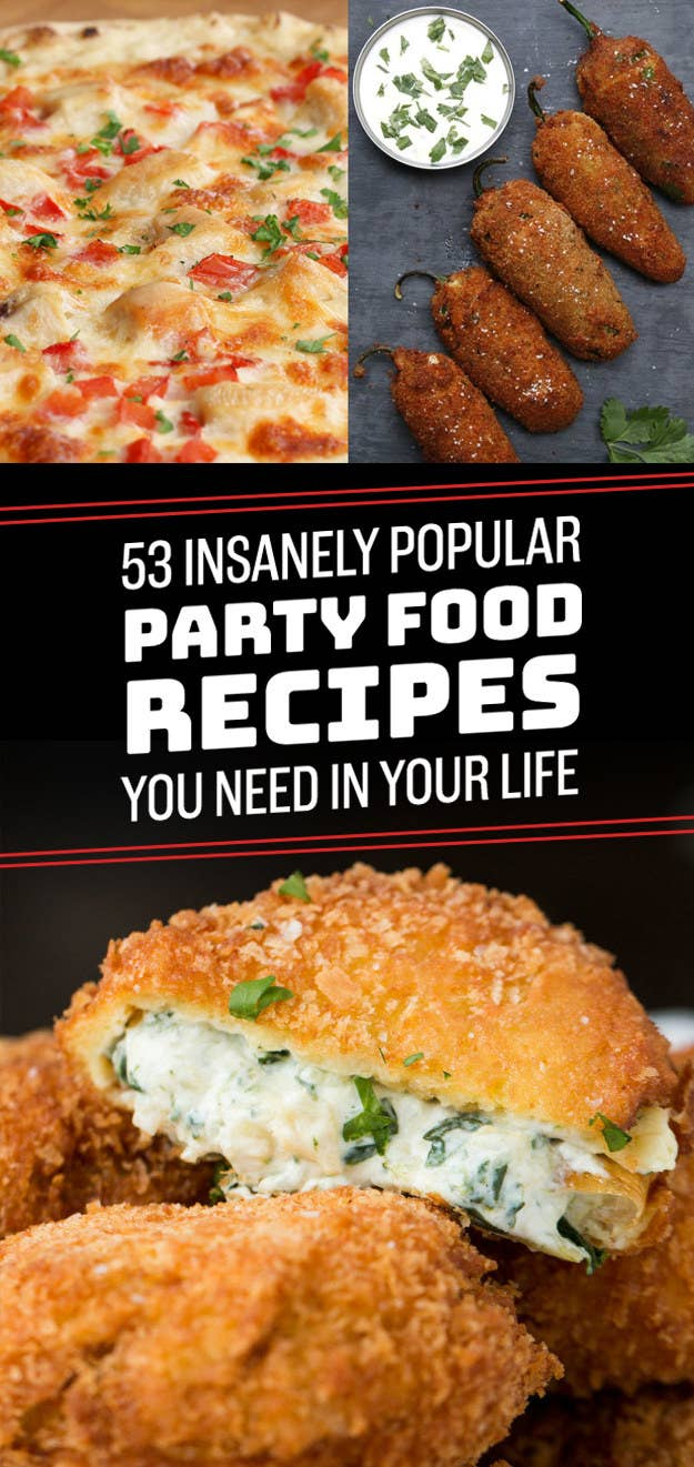 53 insanely popular party food recipes you need in your life share on facebook share forumfinder Choice Image