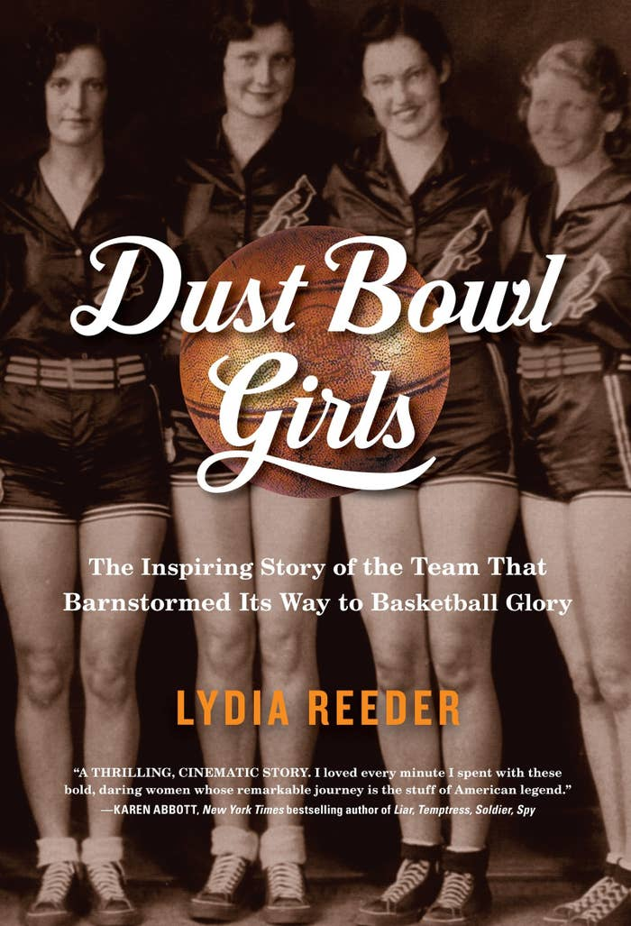 """Kirkus Reviews calls the Dust Bowl Girls """"a heartwarmingly inspirational tale."""" This cinematic novel tells the story of a women's basketball team in the 1920's struggling to prove people wrong in the male-dominated world of sports. It's a great way to inspire you, as well as the women in your life this winter."""