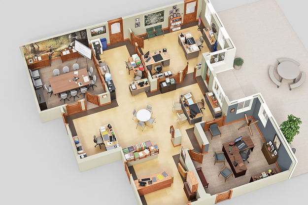 7 Incredible 3D Floor Plans Of Your Favorite TV Shows