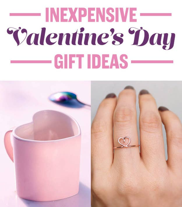 25 Valentine\'s Day Gifts For When You\'re Totally In Love, But Broke