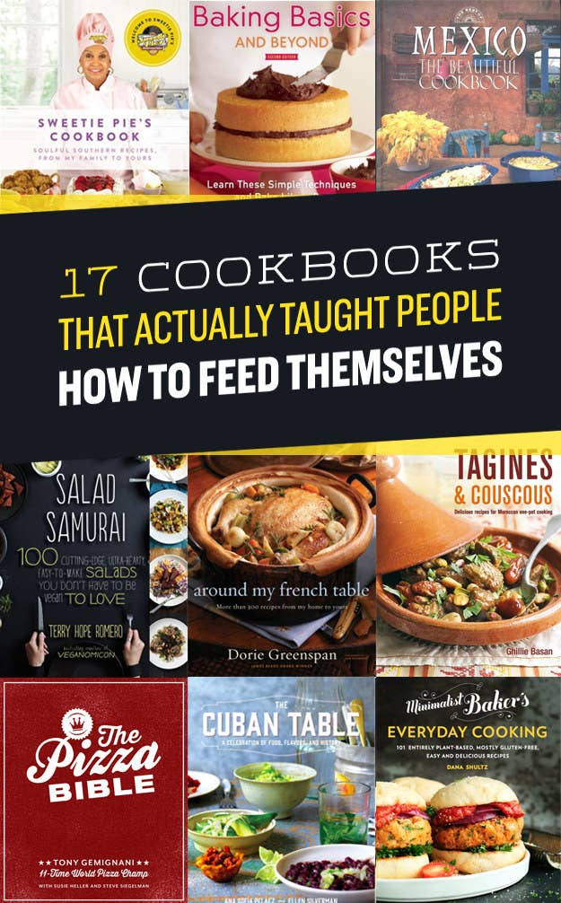 17 cookbooks that actually taught people how to feed themselves share on facebook share forumfinder Choice Image